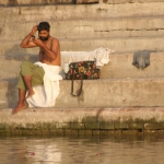 a boat on the ganges 5